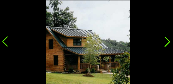 The Blueridge Is A Ranch Style Log Home Treetop Log Homes