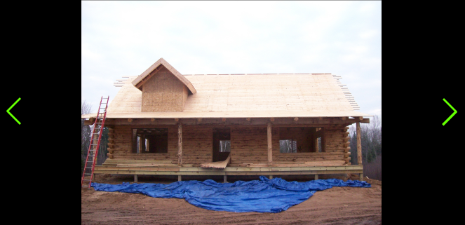 Complete build of a log cabin home in hulbert mi for Building a house in michigan