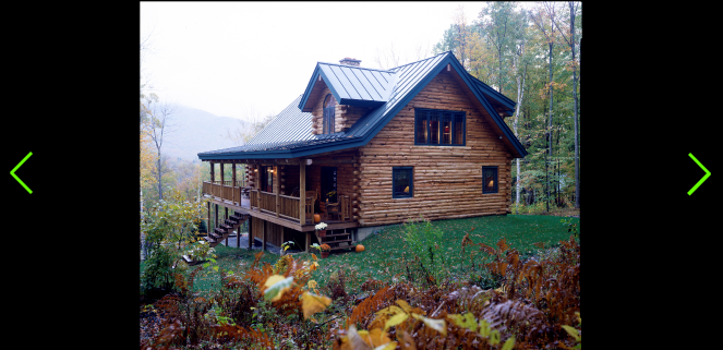 The Kennedy Is A Loft Style Log Cabin Chalet Treetop Log