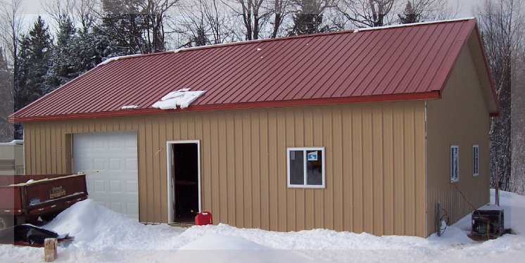 Pole barn builder michigan indiana ohio illinois for Pole barn homes indiana