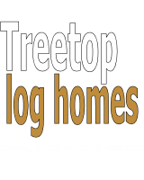 Treetop Log Homes Michigan log home builder and maintenance