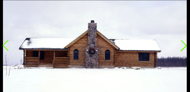 The wyoming is a ranch style log home treetop log homes for Ranch style log homes
