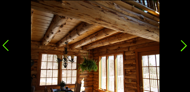 The Cleveland Is A Loft Style Log Cabin Chalet Treetop Log